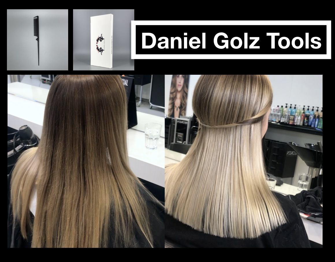 balayage technik hell blond daniel golz. Black Bedroom Furniture Sets. Home Design Ideas