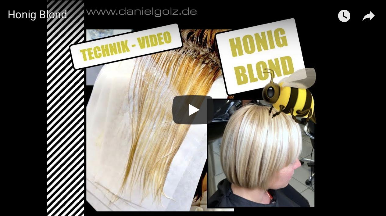 Honig Blonde Haarfarben werden aktueller