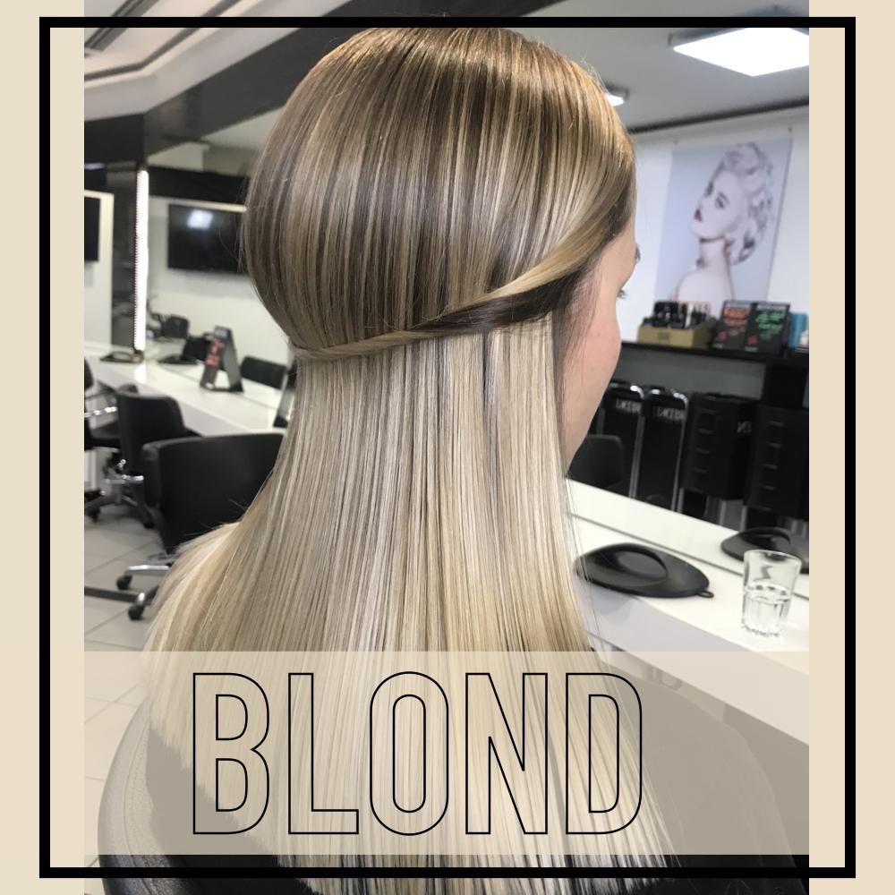 Blond zu färben ist die Königsdisziplin als Friseur