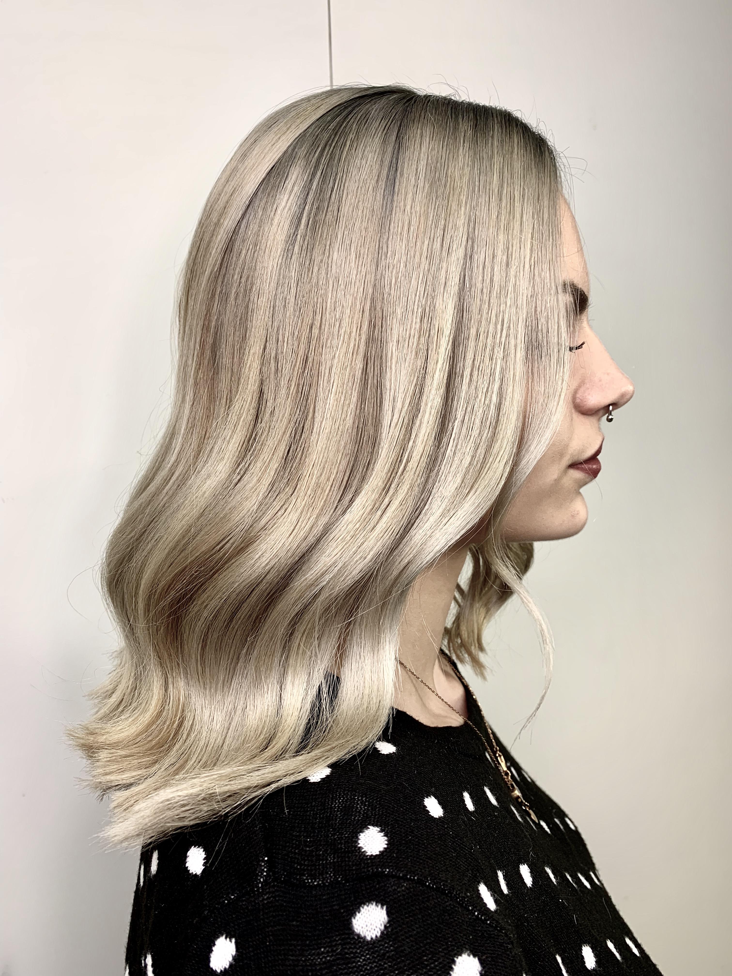 Blonde Haare in 60ig Sekunden …