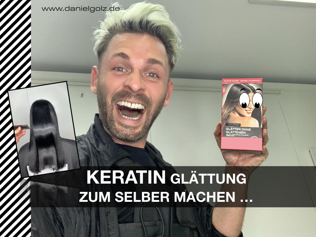 Keratin Glättung für die Haare, nun für zu Hause zum selber machen …