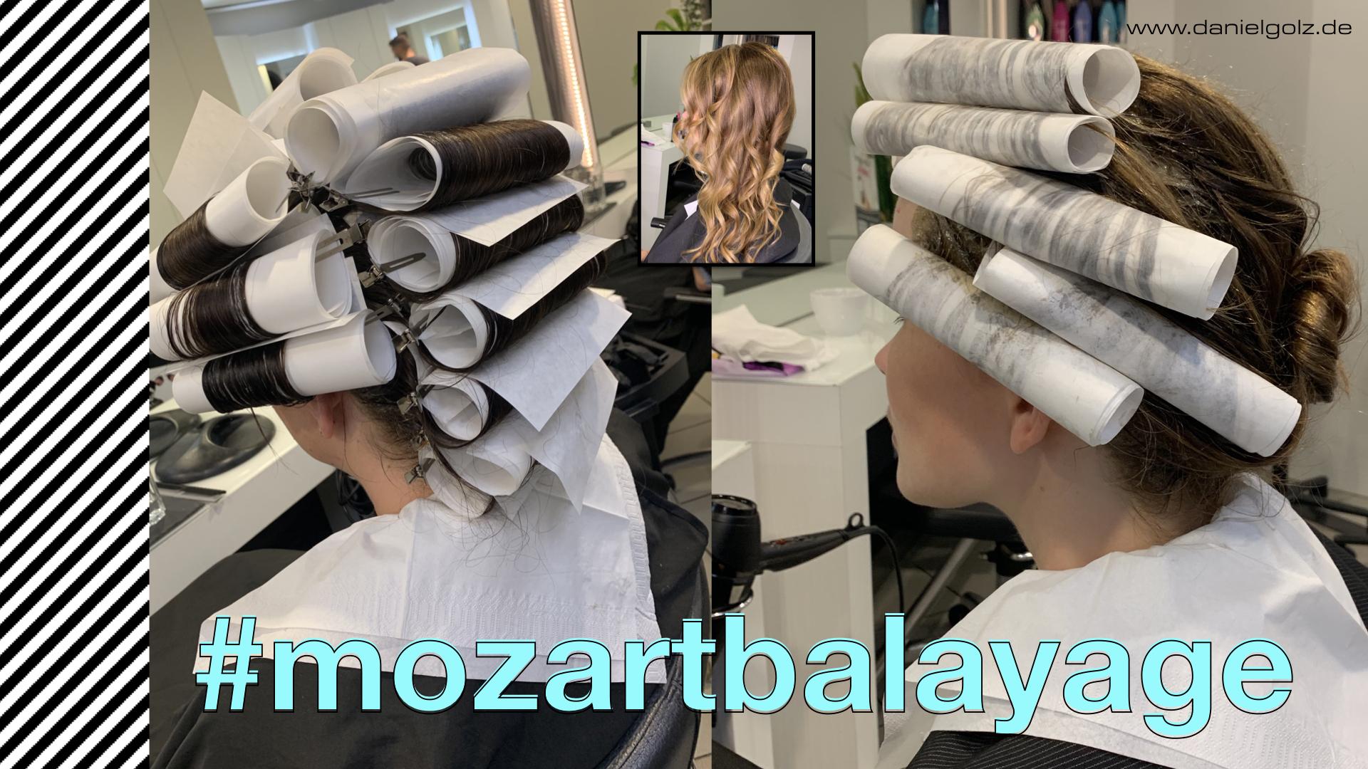 Balayage LANGWEILIG mit dieser Technik macht es dem Friseur Spass