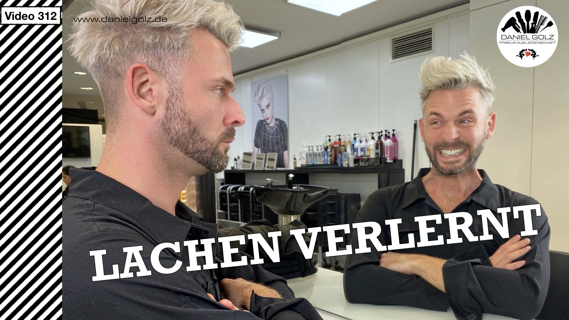 Zum lachen in den Keller gehen, nö ab zum Friseur …