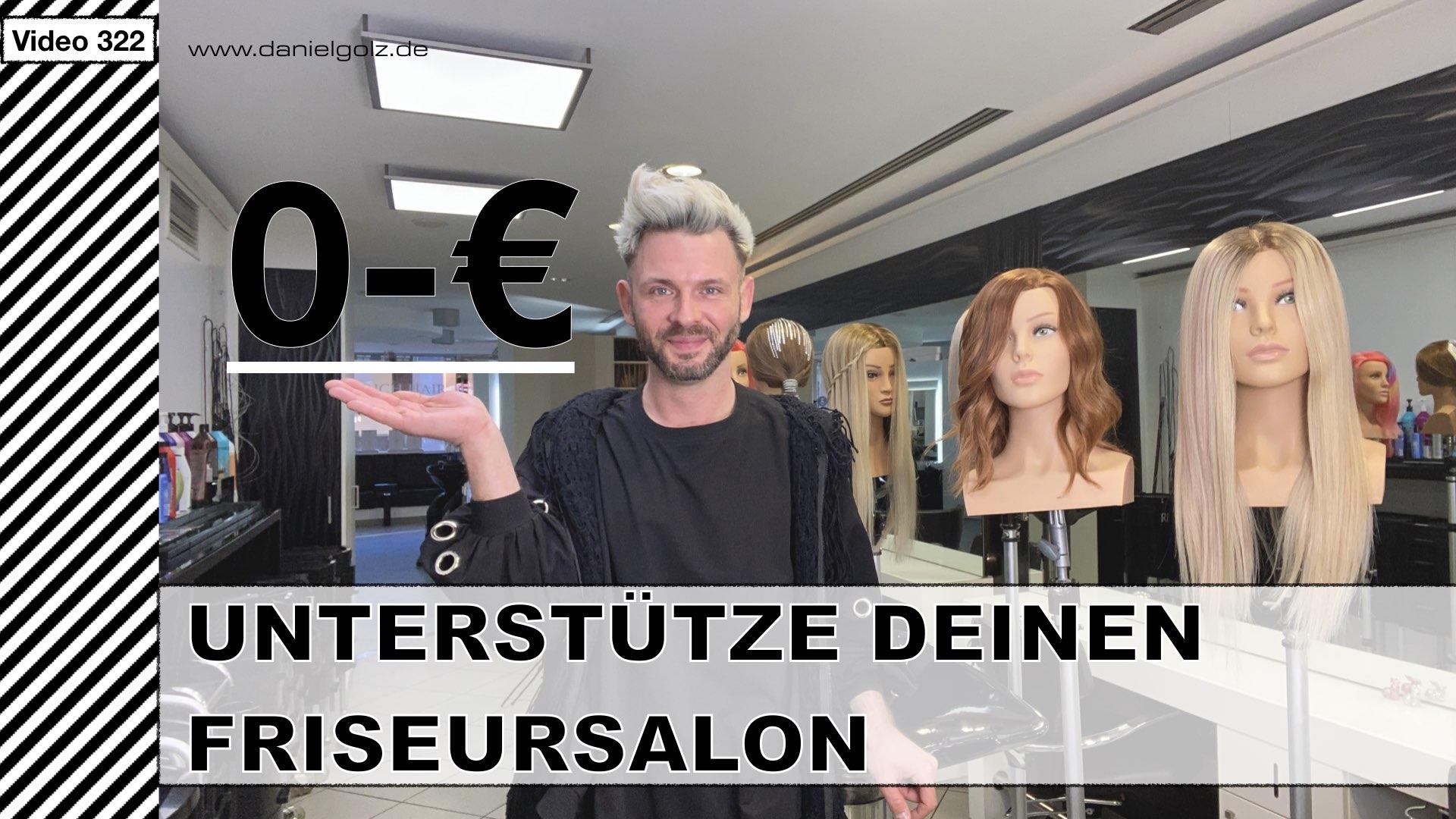 Unterstütze deinen Friseursalon mit 0€ in der Corona-Krise