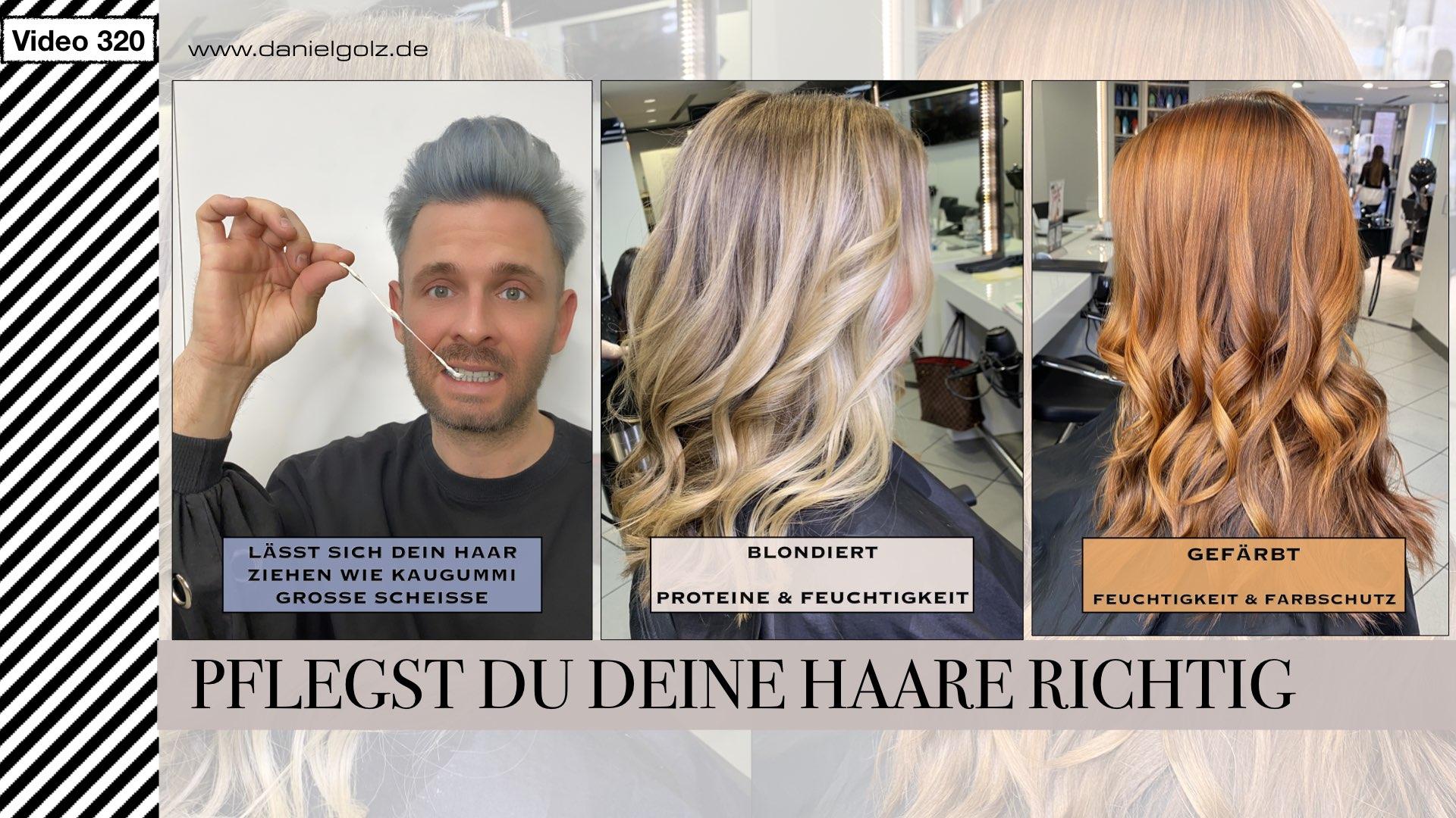 Wie pflegst Du deine Haare richtig. 5 Tipps von einem Friseur
