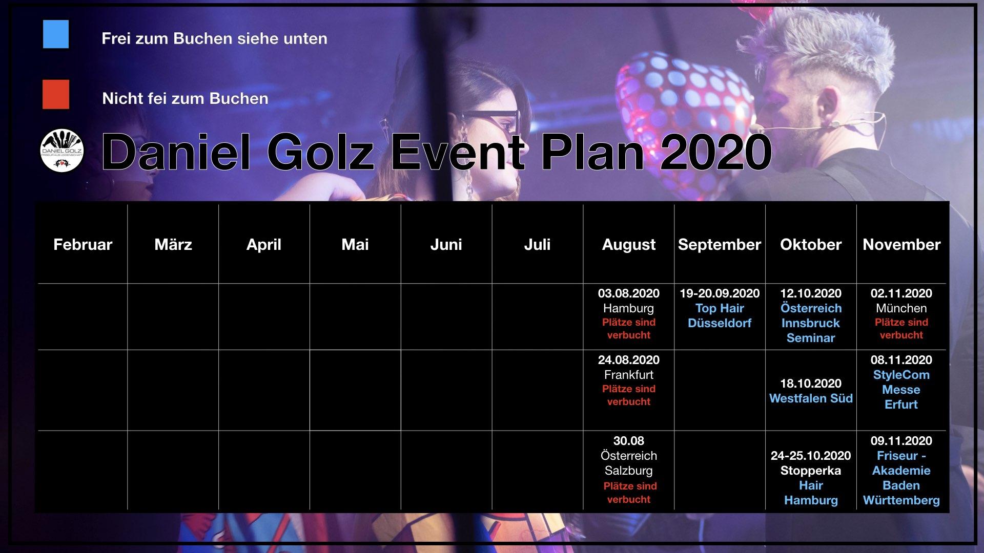 Events Daniel Golz