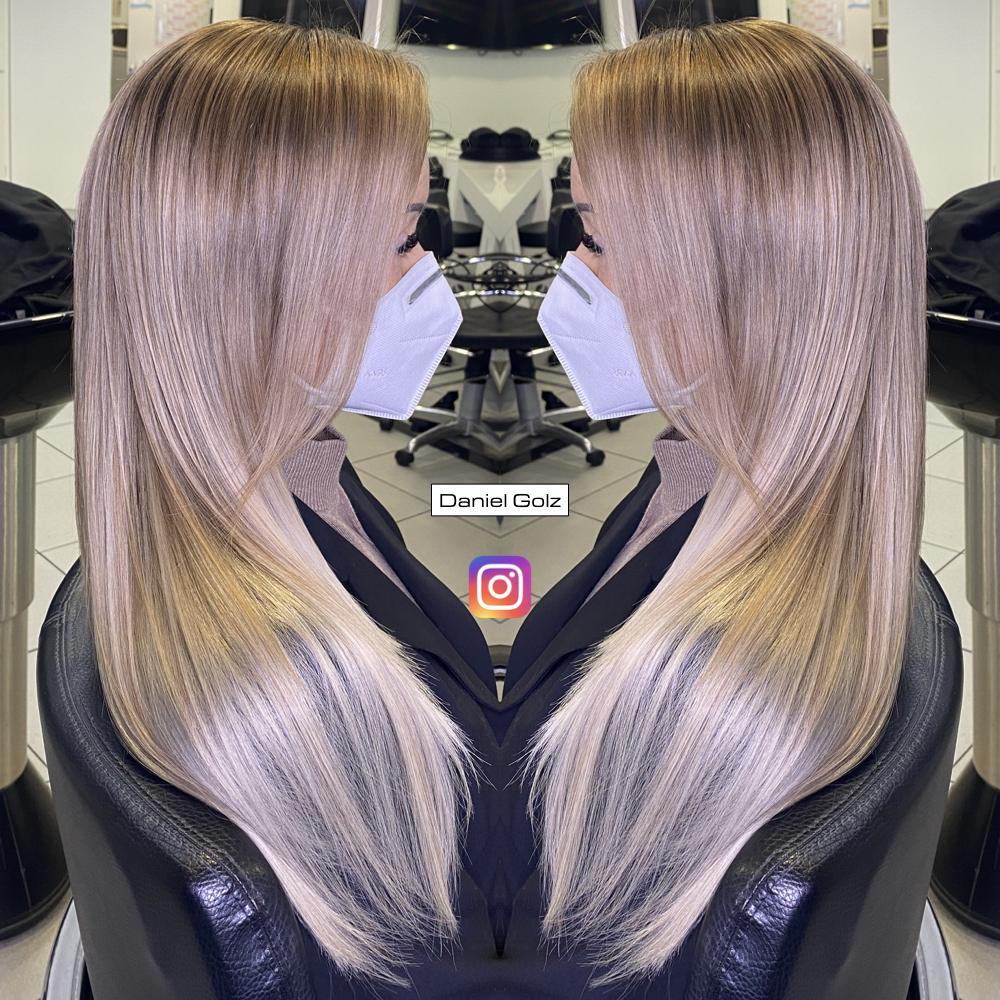 Haarfarben blond braun gesträhnt